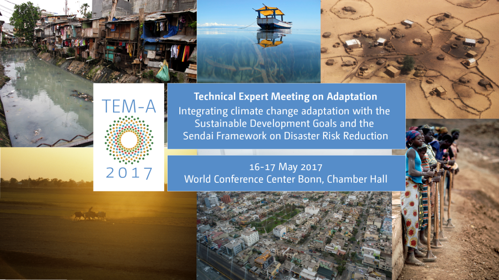 Announcement graphic for the Technical Expert Meeting 2017