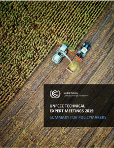 2019 Summary for Policymakers Cover Image